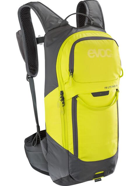EVOC FR Lite Race Protector Backpack 10l Carbon Grey/Sulphur